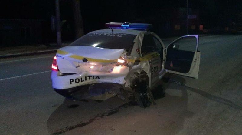 В Бэлць произошло ДТП, в результате которого пострадали четверо полицейских 1 11.05.2021