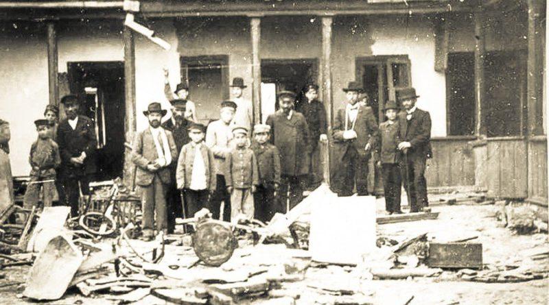 6 апреля 1903 года случился Еврейский погром на улицах Кишинева 10 17.04.2021