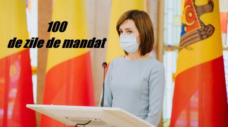 Maia Sandu și-a prezentat raportul de activitate pentru primele o sută de zile de mandat