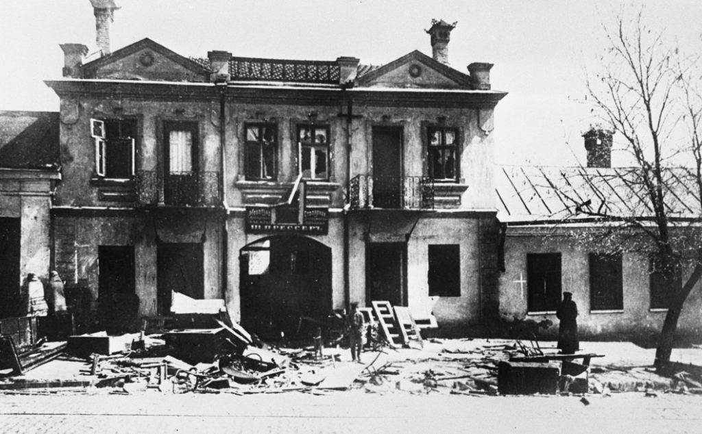 6 апреля 1903 года случился Еврейский погром на улицах Кишинева 2 18.04.2021