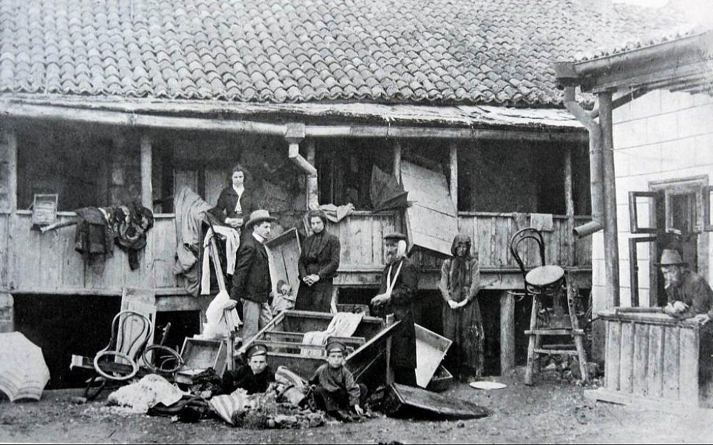 6 апреля 1903 года случился Еврейский погром на улицах Кишинева 3 18.04.2021