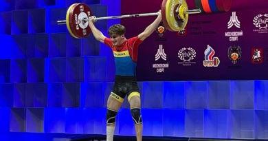 Foto Молдавский тяжелоатлет завоевал малую золотую медаль на чемпионате Европы 2 14.06.2021