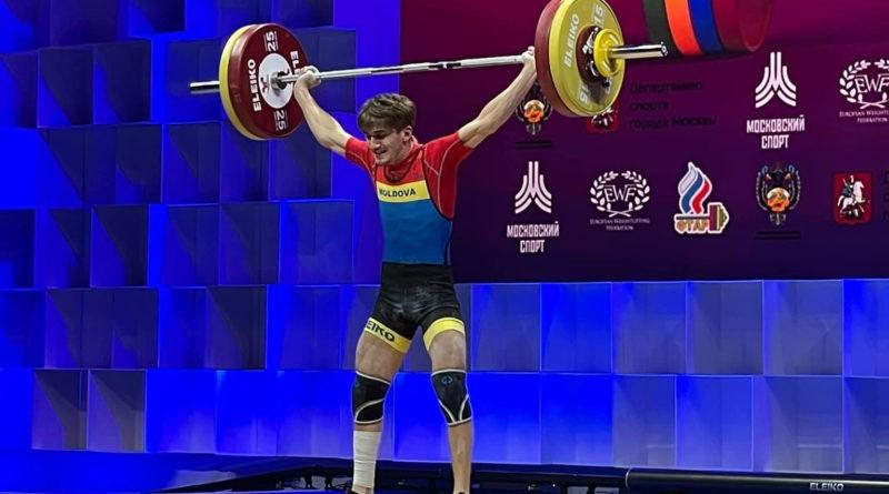 Молдавский тяжелоатлет завоевал малую золотую медаль на чемпионате Европы 6 14.04.2021
