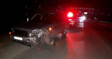 /FOTO/ Accident de lux în raionul Fălești. O fetiță de opt ani a avut nevoie de îngrijiri medicale