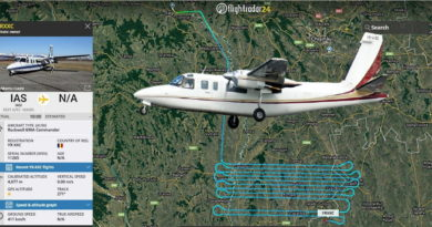 Foto Румынский самолет Rockwell 690A Commander провёл аэрофотосъемку территории Молдовы 4 20.09.2021