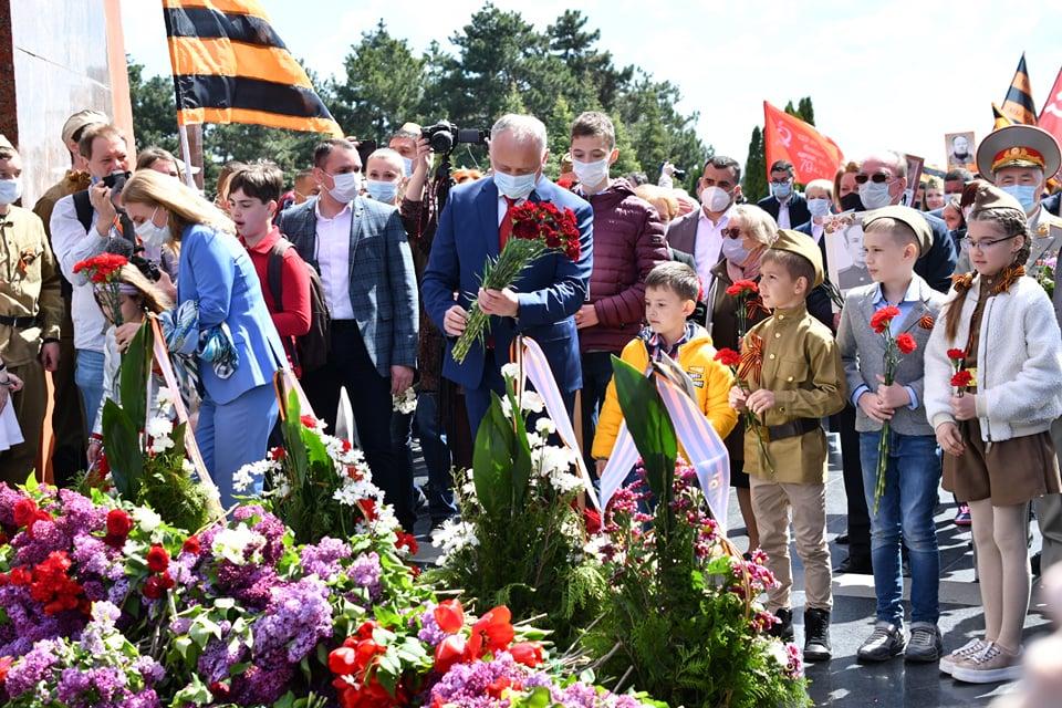 Foto Marș pe timp de pandemie cu peste zece mii de persoane organizat de Ziua Victoriei la Chișinău 1 18.09.2021