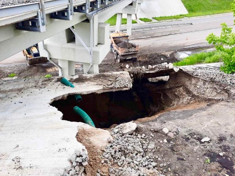 Foto /FOTO/ Mai multe drumuri din nordul țării au fost înnămolite în urma ploilor abundente 1 21.06.2021