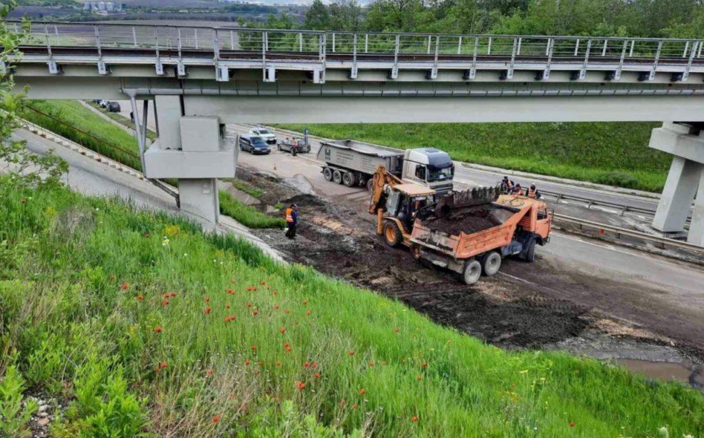 Foto /FOTO/ Mai multe drumuri din nordul țării au fost înnămolite în urma ploilor abundente 2 21.06.2021