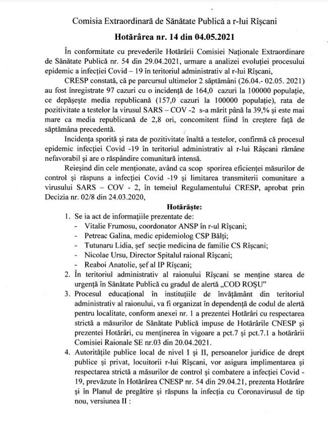 Foto /DOC/ Locuitorii raionului Râșcani nu vor avea acces în cimitire de Paștele Blajinilor 1 21.06.2021