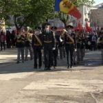 Pe timp de pandemie în jur de o mie de persoane au marcat printr-un marș Ziua Victoriei la Bălți
