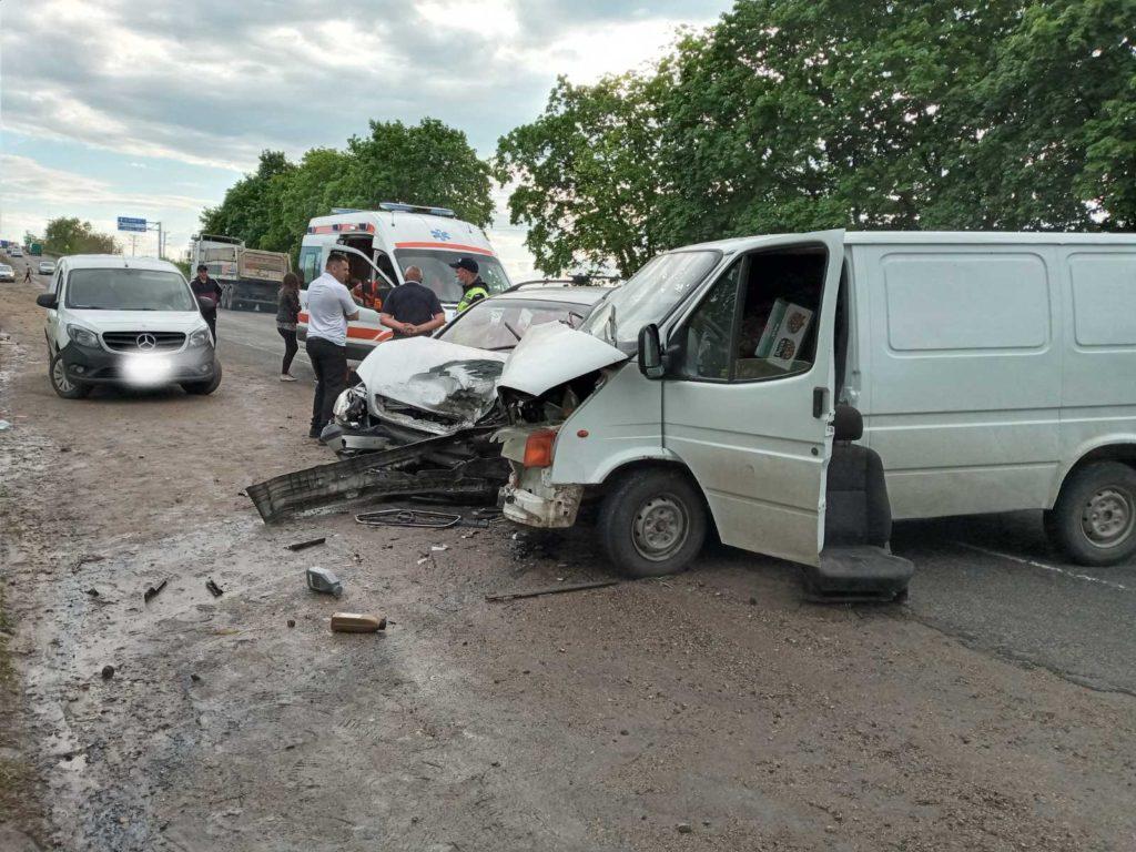 Foto /FOTO/ Accident la centura orașului Bălți. Trei persoane au fost transportate la spital 1 21.06.2021