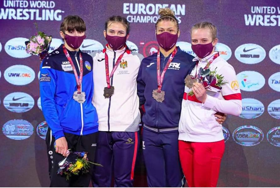 19-летняя спортсменка из Молдовы стала чемпионкой Европы по борьбе 2 11.05.2021
