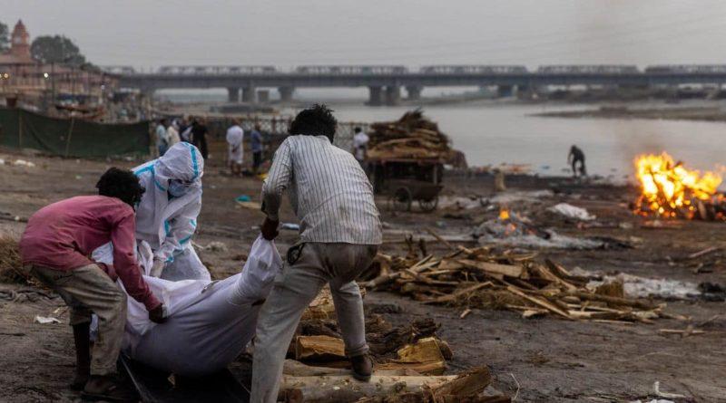 Foto В Индии неизвестные скинули в реку Ганг тела десятков людей, умерших от COVID-19 1 21.06.2021