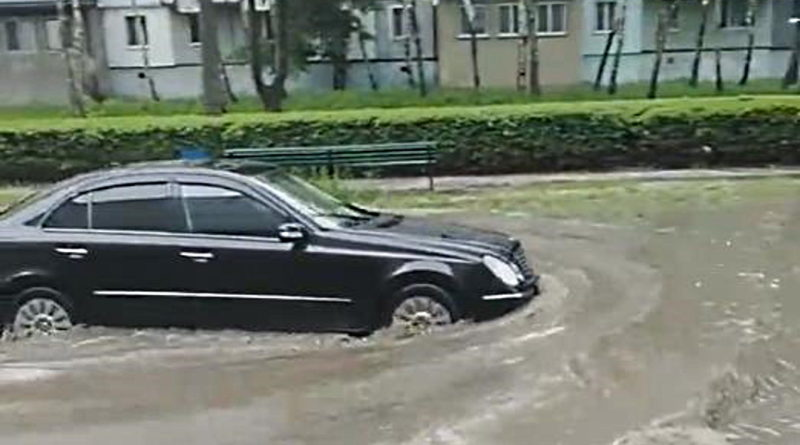Foto В Молдове объявлен желтый код метеоопасности 1 18.09.2021