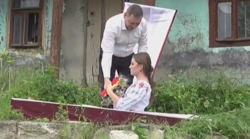 Foto Партия PACE Георгия Кавкалюка вступила в предвыборную кампанию из гроба 1 18.09.2021