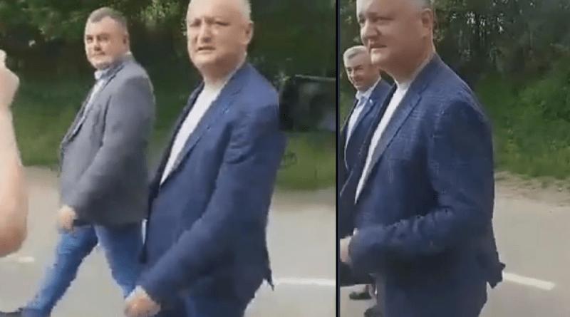 Foto Ветераны войны на Днестре освистали Игоря Додона в Дубэссарском районе, обвинив в «продаже страны» 1 18.09.2021