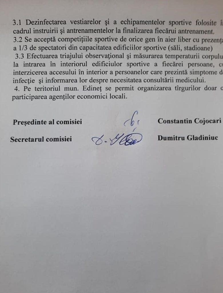 Foto /DOC/ Locuitorii raionului Edineț nu vor mai avea acces în cimitire de Paștele Blajinilor 4 18.09.2021