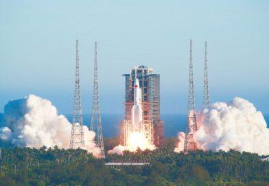 Китайская ракета упадет на Землю в День победы, а специалисты до сих пор не могут предсказать её место падения