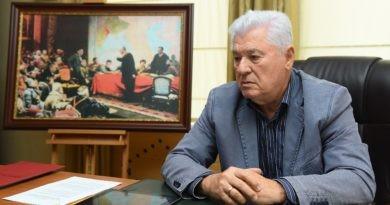 Foto Владимир Воронин возглавит список предвыборного блока ПКРМ и ПСРМ 4 25.07.2021