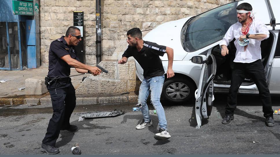 """Foto """"Реакция на реакцию"""". Как драка в Иерусалиме переросла в ракетный обстрел 3 21.06.2021"""