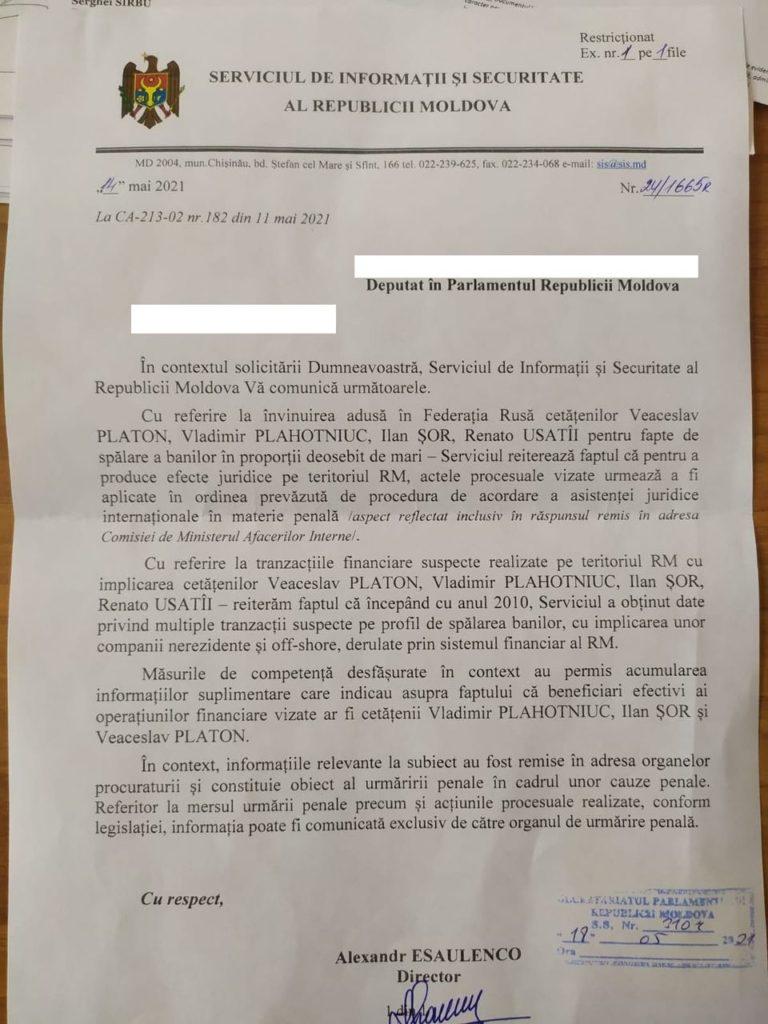 Foto СИБ: Есть доказательства, подтверждающие причастность Плахотнюка, Платона, Шора и Усатого к процессу отмывания денег в Российской Федерации 2 18.09.2021
