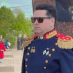 Deputatul socialist Ştefan Gaţcan surprins în uniformă militară la parada din 9 mai, deși nu a făcut armata 2 15.05.2021