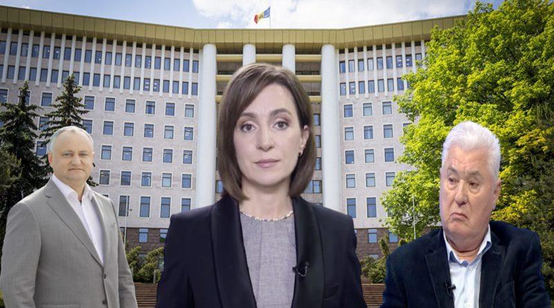 Maia Sandu despre alianța lui Vladimir Voronin cu Igor Dodon: Văd o disperare și nu o strategie extraordinară