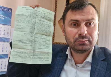 Василия Костюка обвиняют в фальсификации поданных в ЦИК документов