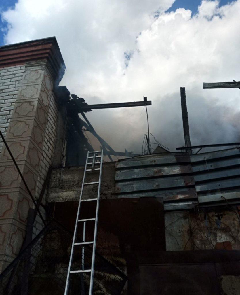 Foto /FOTO/ Incendiu în apropierea raionului Râșcani. O femeie a intrat în stare de șoc, după ce casa i-a fost mistuită de flăcări 2 28.07.2021