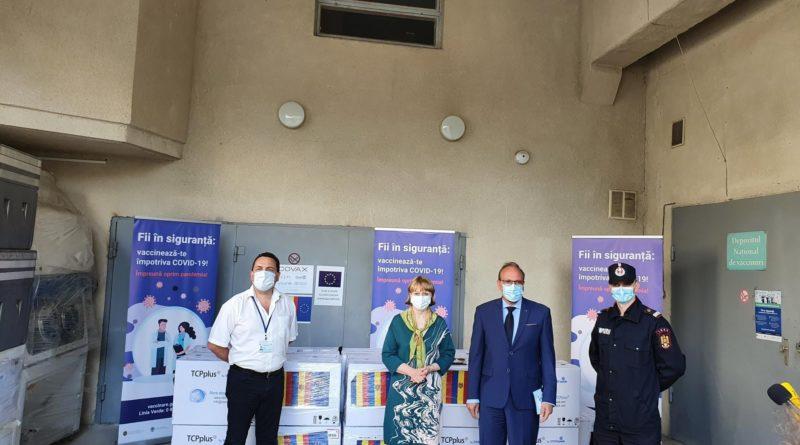 Foto Румыния предоставила Молдове 100 800 доз вакцины против коронавируса AstraZeneca 1 21.06.2021