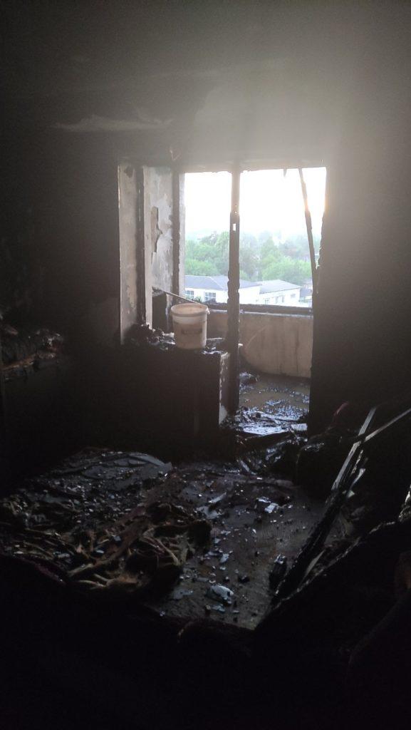 Foto /FOTO/ Incendiu într-un bloc locativ din orașul Soroca. Mai multe persoane au fost evacuate 2 28.07.2021