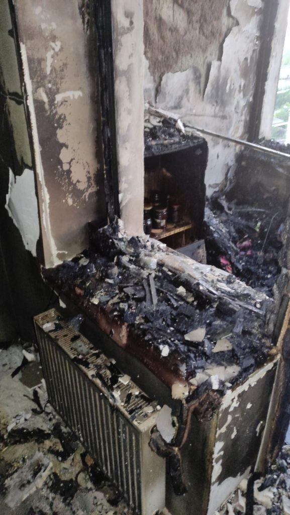 Foto /FOTO/ Incendiu într-un bloc locativ din orașul Soroca. Mai multe persoane au fost evacuate 5 28.07.2021