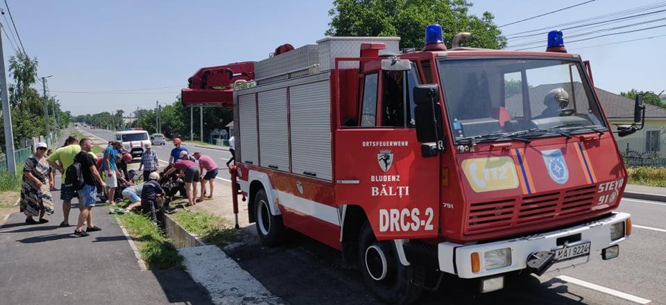 Foto /VIDEO/ Cal prăbușit într-un șanț de pe marginea carosabilului în raionul Fălești. A fost nevoie de intervenția salvatorilor 5 26.10.2021