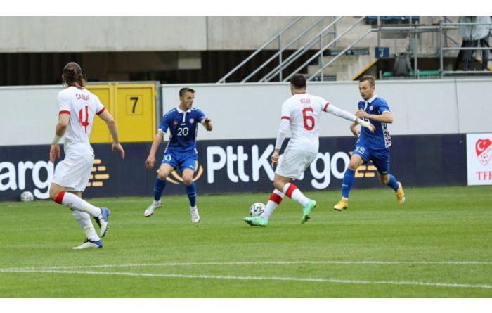 Foto Сборная Молдовы по футболу проиграла товарищеский матч сборной Турции 2 16.06.2021