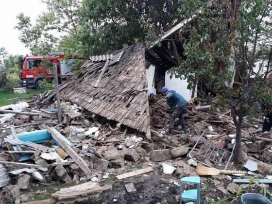 Foto /FOTO/ Deflagrație în raionul Soroca. Un bărbat a ajuns la spital cu arsuri de gradul II și III 2 28.07.2021