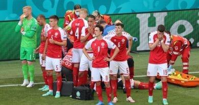 Foto Футболист сборной Дании в матче чемпионата Европы со сборной Финляндии перенес остановку сердца 3 16.06.2021