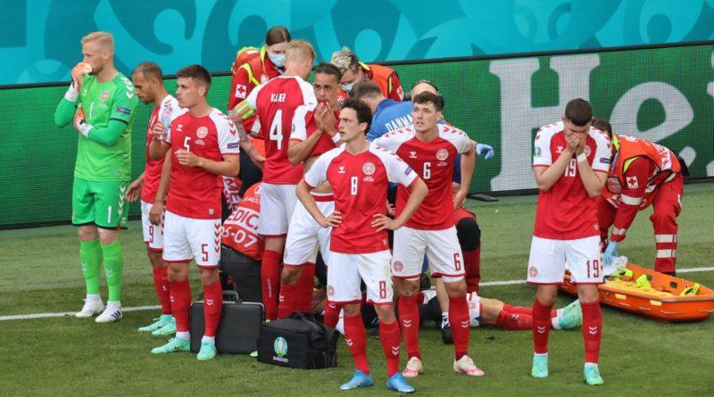 Foto Футболист сборной Дании в матче чемпионата Европы со сборной Финляндии перенес остановку сердца 1 16.06.2021