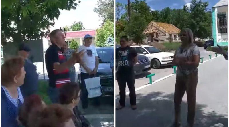 Foto Встреча Виолеты Ивановой из партии «Шор» в Криулянском районе обернулась скандалом 1 17.10.2021