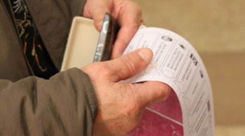 /FOTO/ Vezi cum va arăta buletinul de vot pentru alegerile prezidențiale