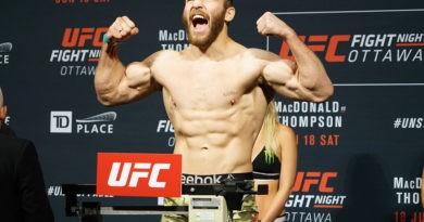 Foto Молдавский боец UFC Ион Куцелаба встретится 18 сентября с американским бойцом Дэвином Кларком 4 05.08.2021