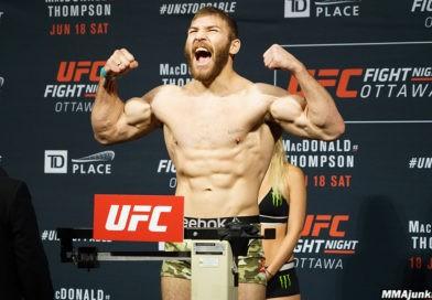 Foto Молдавский боец UFC Ион Куцелаба встретится 18 сентября с американским бойцом Дэвином Кларком 15 28.07.2021
