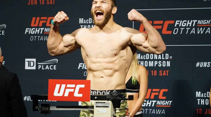 Foto Молдавский боец UFC Ион Куцелаба встретится 18 сентября с американским бойцом Дэвином Кларком 1 17.10.2021