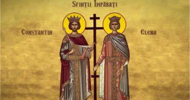 Creștinii ortodocși de stil vechi îi cinstesc astăzi pe Sfinții Constantin și Elena