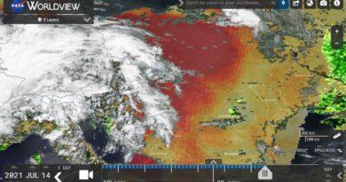 Foto На Молдову надвигается пылевое облако из Сахары 3 24.07.2021