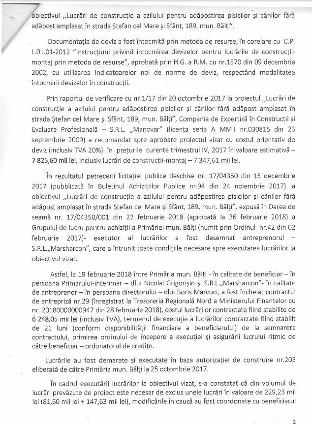 Foto Строительство бельцкого приюта для собак по цене 450 евро за кв. метр: новое расследование 11 17.10.2021