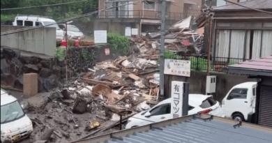 Foto (Видео)В Японии сошел селевой оползень, 20 человек пропали без вести 2 21.09.2021