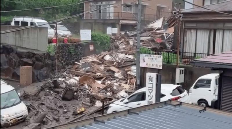 Foto (Видео)В Японии сошел селевой оползень, 20 человек пропали без вести 1 26.10.2021