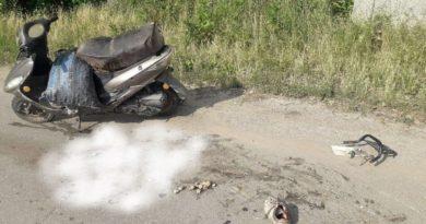 Bărbat în stare de ebrietate ajuns la spital, după un accident cu motoreta în raionul Edineț