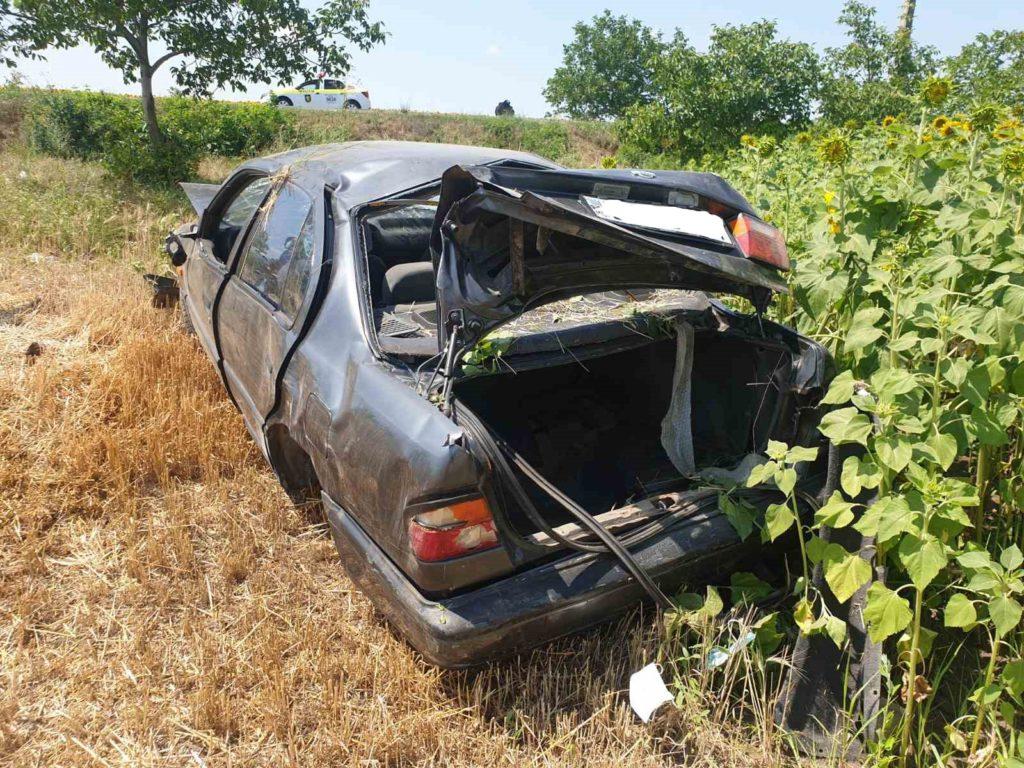 Foto /FOTO/ Grav accident în raionul Drochia. O persoană și-a pierdut viața 1 28.07.2021