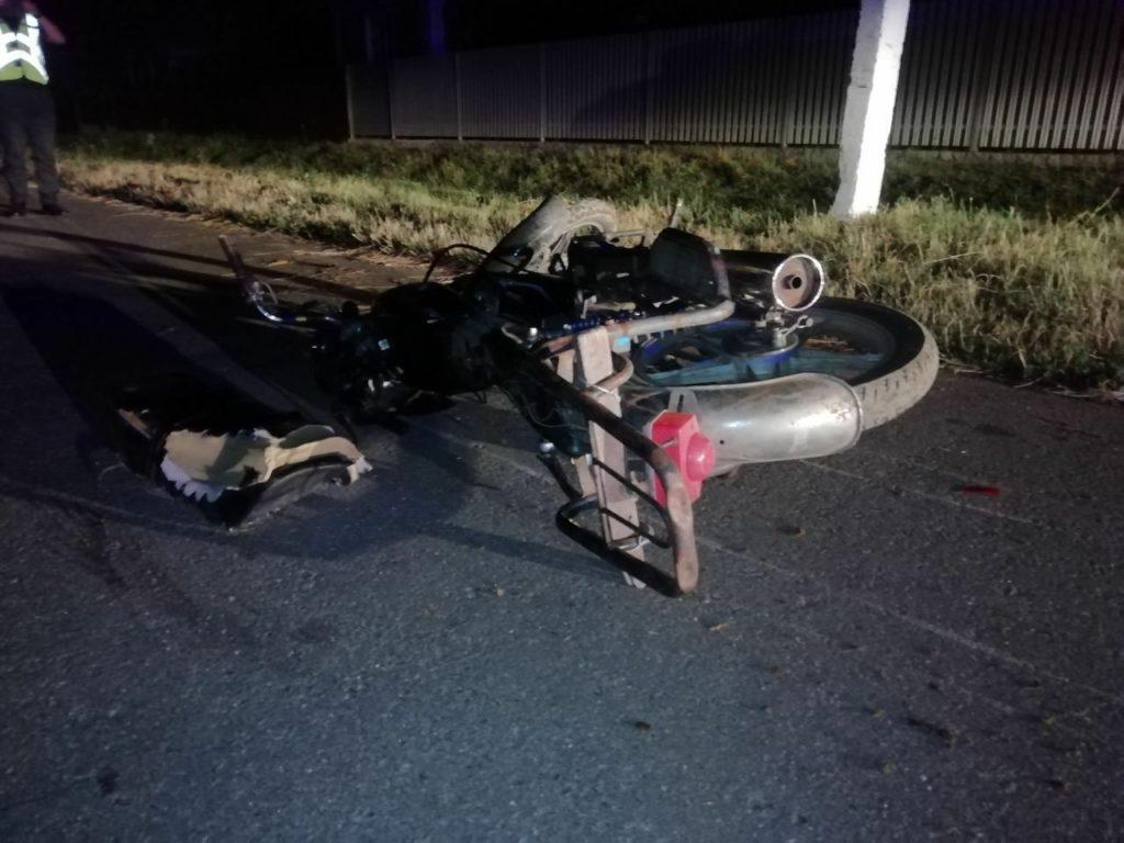 Foto /FOTO/ Accident cu implicarea unei motorete în raionul Dondușeni. Un tânăr a decedat pe loc 1 26.10.2021